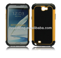 Hotsell Silicone Football Style Mobile Phone Cover For Samsung Galaxy Note 2