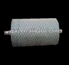 Solid rubber lining i.e. PU, PE castor wheels