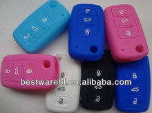 2013 Promotional and durable silicone car key coverfor VW /Specially designed for Volkswagen silicone car key cover