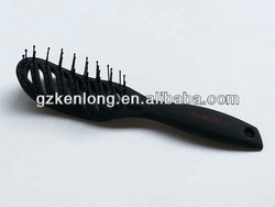2013 New Hot Sale Curved Vent rotating electric hair brush
