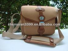 Portable canvas DSLR camera bag Billingham camera bag