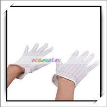 White Kitchen Cooking Supplies Anti-skidding Anti-static Gloves - Kitchen Safety Glove