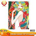 2014 DIY 유명한 디지털 캔버스 누드 섹스 여성 유화 키트 벽 장식과 선물( 60*75cm)