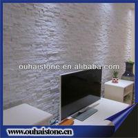 Superb landscaping stone bricks interior white wall paneling