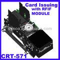 distributeur automatique avec lecteur enregistreur de carte soutien IC + RFID CRT-571