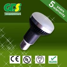 heat conductive plastic 6W light bulb shape