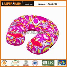 Various pattern custom car neck pillow/japanese neck pillows/funny neck pillow
