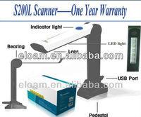 A2 mega pixel 1600X1200 High Speed Portable Scanner/Handy Document Scanner S200L