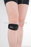 black neoprene knee strap