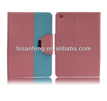New design stand leather case for ipad mini,belt clip case for ipad mini,for ipad mini case leather