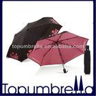 "21""8k dolls and brand fashion foldable umbrella"