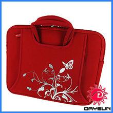Lightweight neoprene portable computer bag