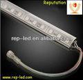 de alto brillo de aluminio cáscara smd 5050impermeables led de la tira rígida
