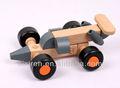 Brinquedo de madeira do carro/carro mudou fivela fivela