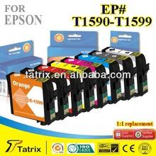 Inkjet Cartridge T1590-T1599 Compatible for Epson T1590-T1599 Inkjet Cartridge used in Epson Stylus Photo R2000