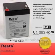 UPS battery 12v 4.5ah Maintenance free sealed Lead Acid Battery
