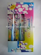High quality disposable tongue cleaner adult toothbrush