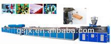 PP PVC wood plastic composite production line