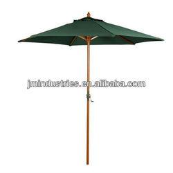 polyester market beach umbrella 6 ribs