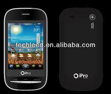 "Cute PDA quad Band cell phone ipro Q70 2.8"" QVGA Analog TV,MTK6252A platform"