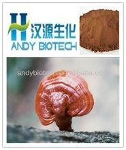 100% Natural Red Reishi Mushroom Extract 4:1