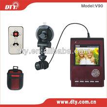 hd portable car dvr camcorder, V90