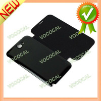 for Samsung Galaxy Note 2 Case PU Leather + PC Battery Back Cover Style