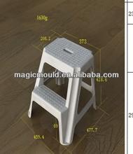 high quality good design plastic household stool mould/children stool mould/baby stool mould maker