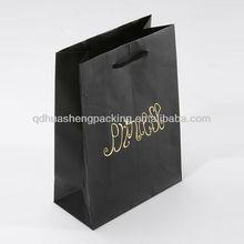 Popular standard custom nice paper bag packaging