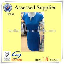 Casual dress polyester dress women
