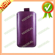 PU Leather Pouch Case for iPhone 4 5 4S LG Optimus L3 E400