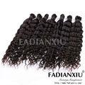 Armadura del pelo brasileño barato, Belleza de la onda profunda a granel del pelo brasileño