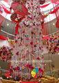 La línea 2013 hotel cortina/centro comercial festival de la ceremonia de la decoración