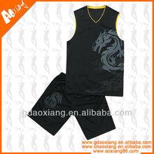 Asia fashion style printing customized basketball wear