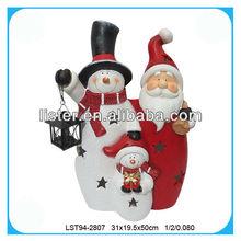 Outdoor christmas ceramics decoration wholesale
