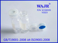 2 ml a presión clara cromatografía de gases vial