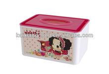 household lover girl napkin tissues paper box mould mold