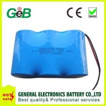 3S 10.8v er34615m lithium battery packs