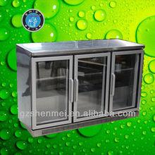 300L table top showcase fridge