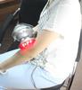 Hand Massager vibrating palm massager OBK-207
