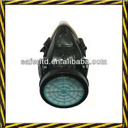 Single cartridge gas mask, anti dust chemical respirator
