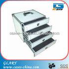 aluminum tool storage box with drawers