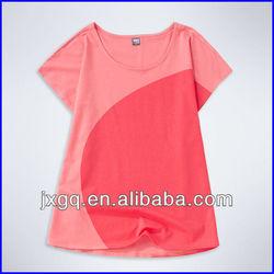 EHR-93 fancy design women t-shirts korea design fancy design t-shirt