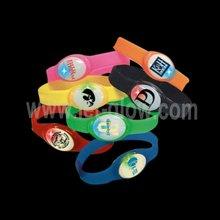 LED PU flashing light up bracelet decoration novelty for party wedding night club concert