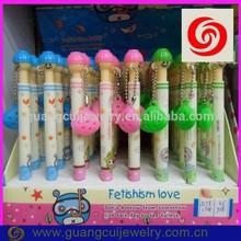 fashion newest plastic hotsale cartoon shell pen for kids