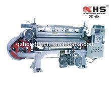 Foaming rubber sheet slicer