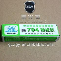 704 silicone rubber sealant glue Thermal conductive adhesive