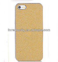 Chrome Electroplating Plastic Hard Cover Bling Bling for apple iphone cases 5