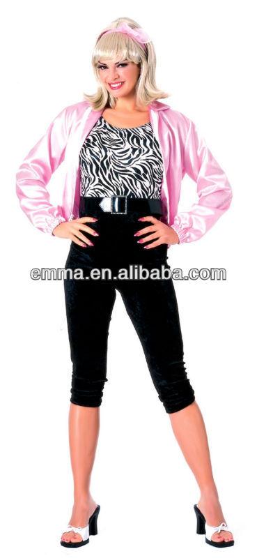 adulti rosa signore giacca licenza ufficiale grasso costumi festa in maschera c158