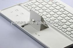 HOT! aluminum wireless bluetooth keyboard for iPad2/iPad3/the new iPad